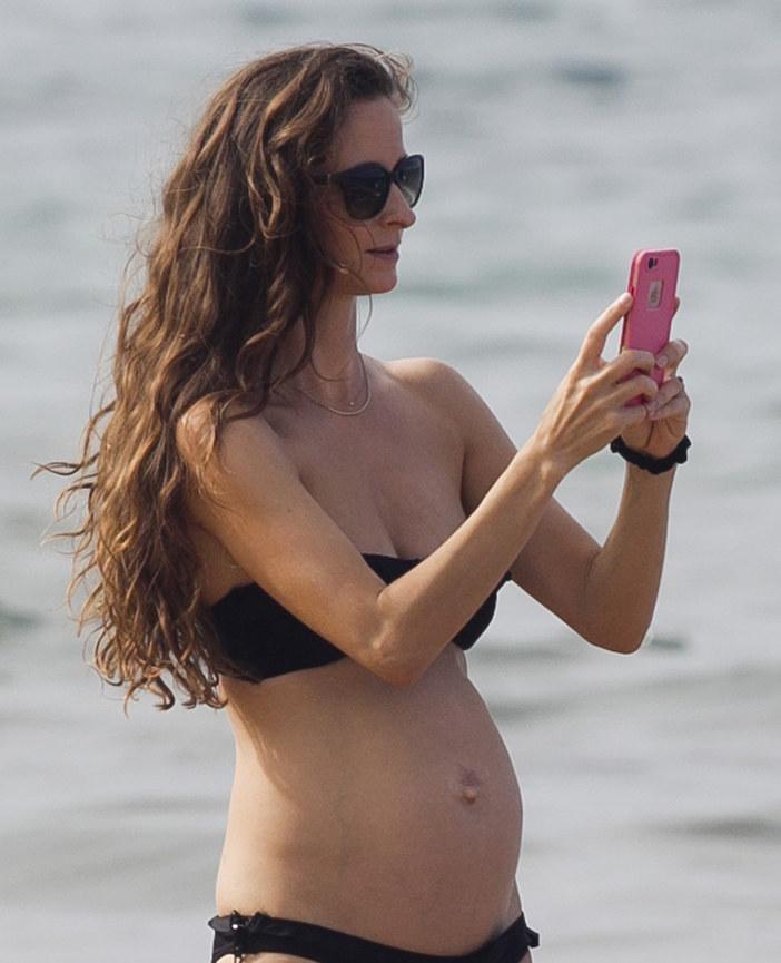 Żona Jeffa Goldbluma znów jest w ciąży! /starsurf/Splash News /East News