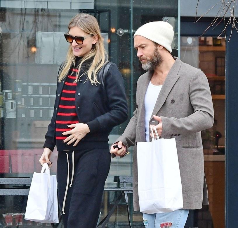 Żona Jude Law spodziewa się dziecka? /BACKGRID /Agencja FORUM