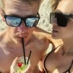 Żona Marcina Mroczka rozebrała się na plaży! Wszyscy patrzyli tylko na jej piersi!