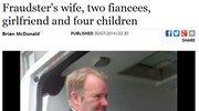 Żona, narzeczone i dziewczyna. Ogromne oszustwo 41-latka