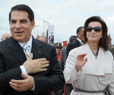 Żona prezydenta Tunezji uciekła z 1,5 tony złota
