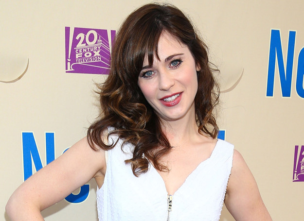 Zooey Deschanel /Getty Images
