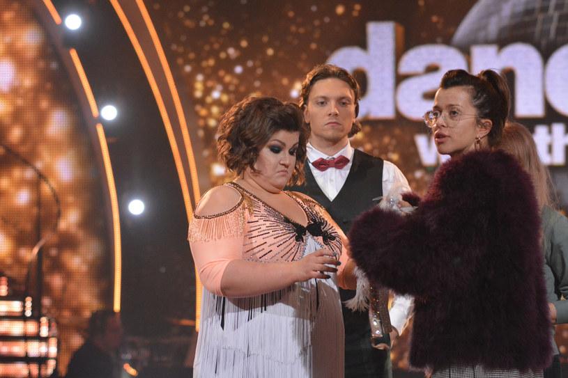 Żora Korolyov z Dominiką Gwit i Malwiną Wędzikowską /VIPHOTO /East News