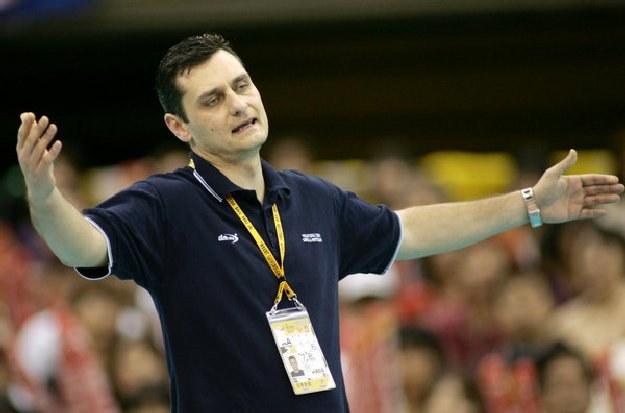 Zoran Terzic, były trener siatkarskiej reprezentacji Serbii /AFP