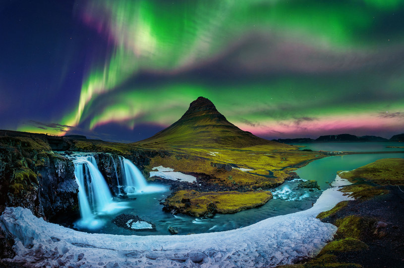 Zorza polarna (Aurora borealis) /123RF/PICSEL