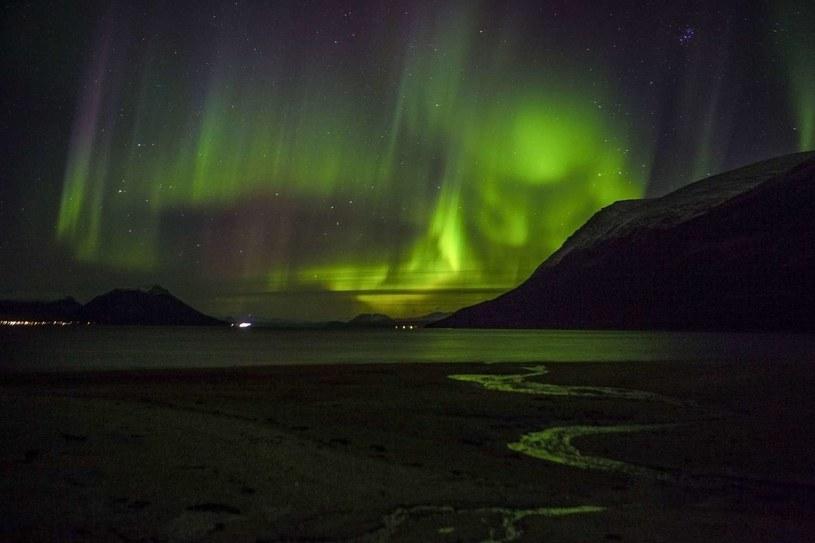 Zorza polarna nad Norwegią, zdjęcie ilustracyjne /AFP