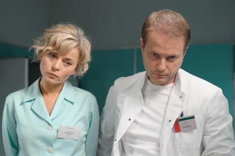 Zosia i Kuba Burscy (Małgorzata Foremniak i Artur Żmijewski) /Agencja W. Impact