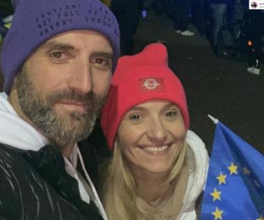 """""""ZostajeMY w Unii"""": Gwiazdy na manifestacji"""
