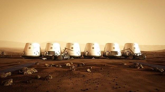 Zostało już tylko 1058 kandydatów do lotu na Marsa /materiały prasowe