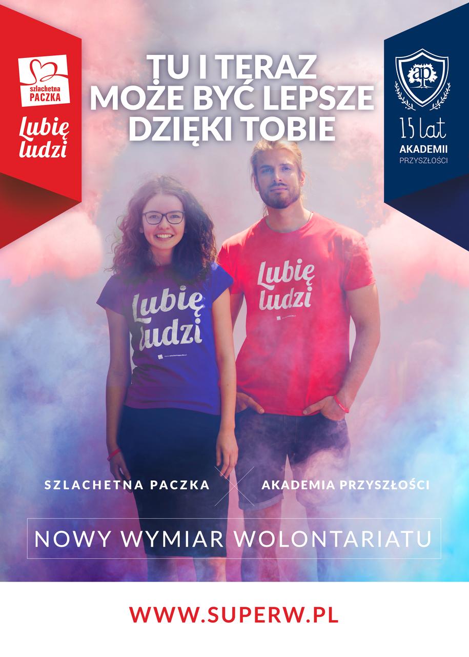 Zostań wolontariuszem Szlachetnej Paczki! /Materiały prasowe