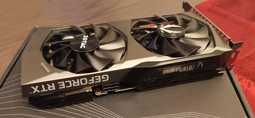 ZOTAC GeForce RTX 3060 Ti Twin Edge /INTERIA.PL