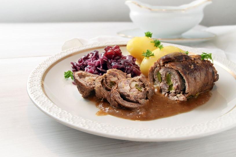 Zrazy wołowe to klasyczne danie kuchni polskiej /123RF/PICSEL