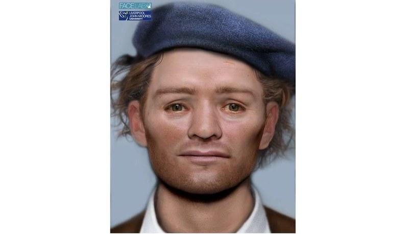 Zrekonstruowana twarz szkockiego żołnierza przez Face Lab /materiały prasowe