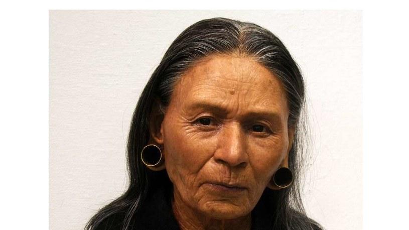 Zrekonstruowany wygląd czaszki królowej Huarmey /materiały prasowe