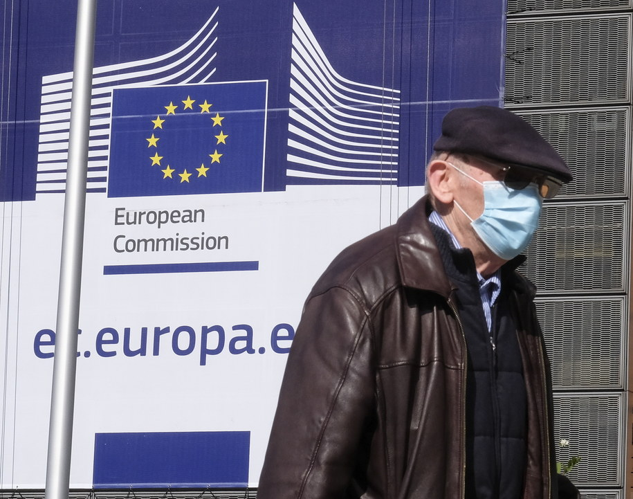 Źródła: jest porozumienie ministrów finansów w sprawie pakietu przeciw kryzysowi /OLIVIER HOSLET /PAP/EPA