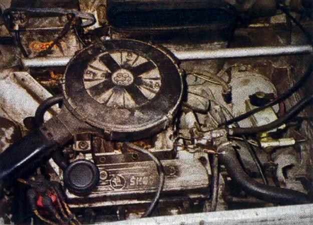 Źródłem napędu Skody Favorit jest przestarzały konstrukcyjnie silnik z aluminiowym kadłubem. Zasadniczą jego zaletą jest niskie zużycie paliwa. /Motor