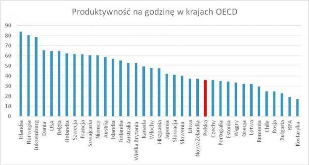 Źródło: OECD /Forsal.pl