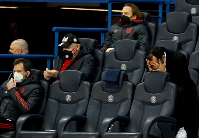 Zrozpaczony Salihamidżić (z prawej) podczas meczu z PSG /Matthias Hangst /Getty Images