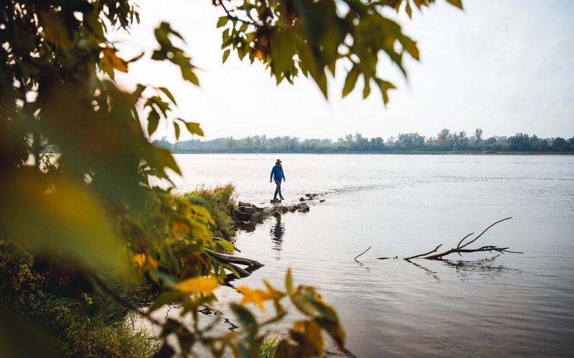 """""""Zrozumiałem, że kompletnie tej rzeki nie znam. Obserwowałem więc, jak zmienia się jej poziom wody, zachowanie mieszkających nad nią zwierząt, i było to dla mnie fascynujące"""" /Alina Kondrat /materiały prasowe"""