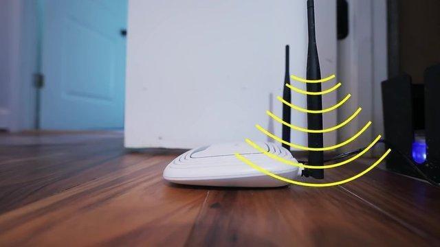 zrywanie sygnału wifi /© Photogenica