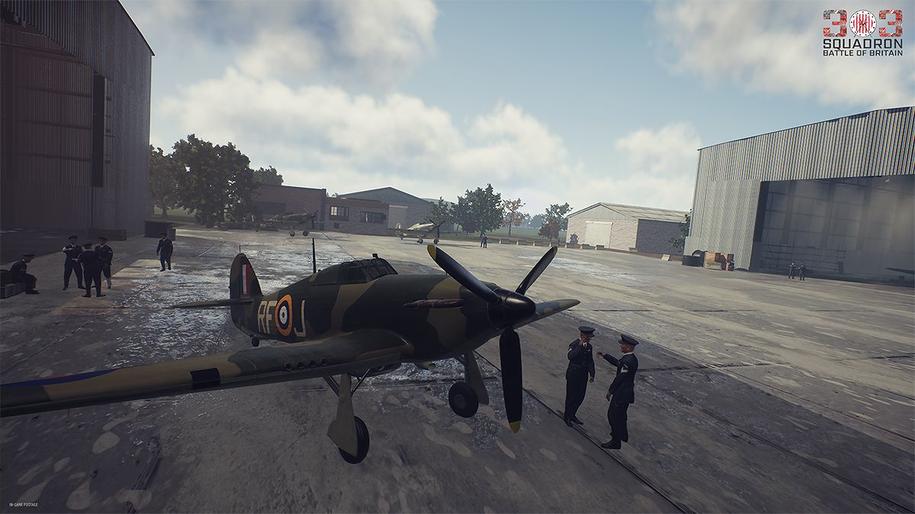 Zrzut ekranu z gry /Atomic Jelly/www.facebook.com/303SquadronTheGame /