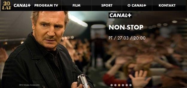 Zrzut ekranu z oficjalnej strony WWW Canal+ /materiały prasowe
