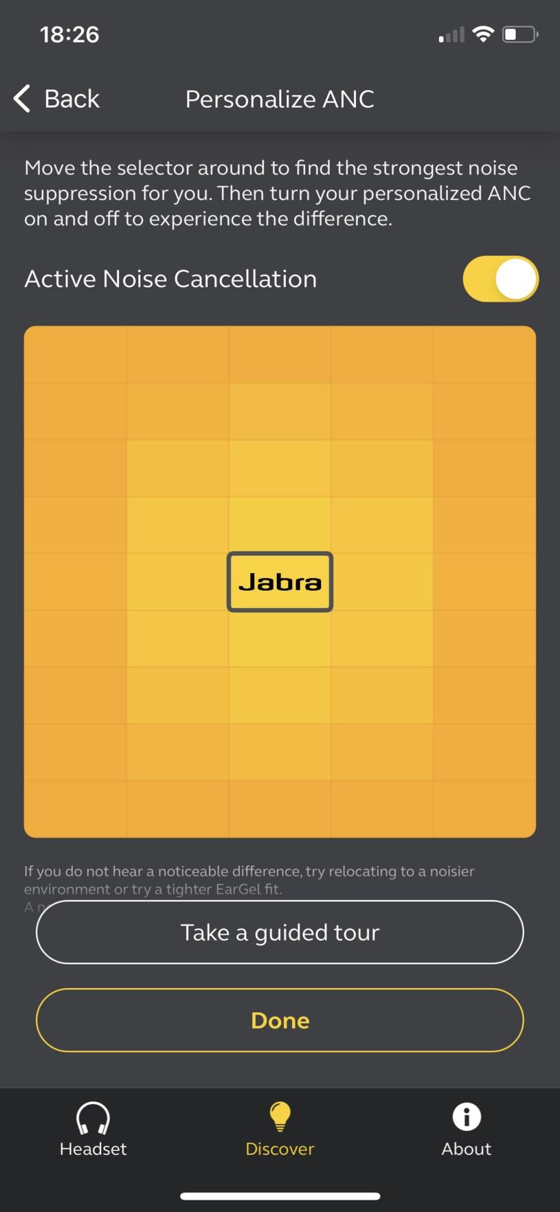 Zrzut z aplikacji Jabra Sound+ /INTERIA.PL