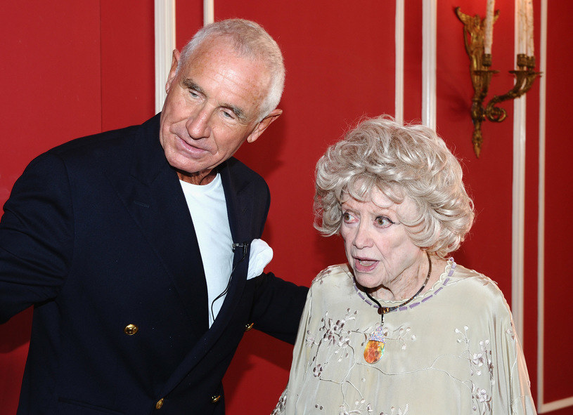 Zsa Zsa Gabor i książę Frederic von Anhalt w 2011 roku /Getty Images