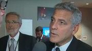 Zszokowany George Clooney