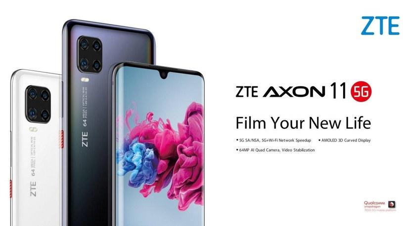 ZTE Axon 11 5G /materiały prasowe