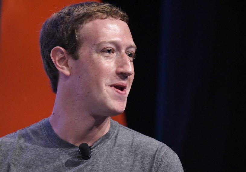 Zuckerberg może mieć jeszcze większe kłopoty /AFP