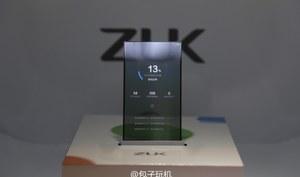 ZUK prezentuje smartfona z przezroczystym ekranem