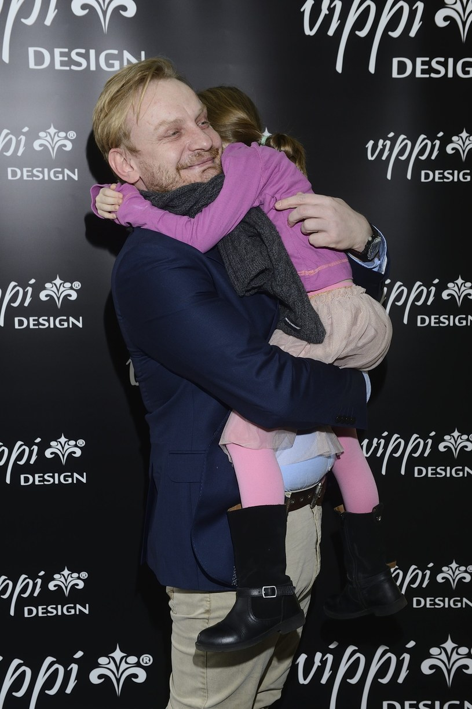 Żukowski z córką /- /East News