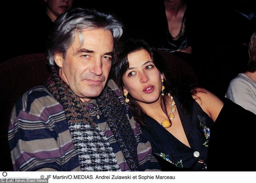 Żuławski z Sophie Marceau /East News