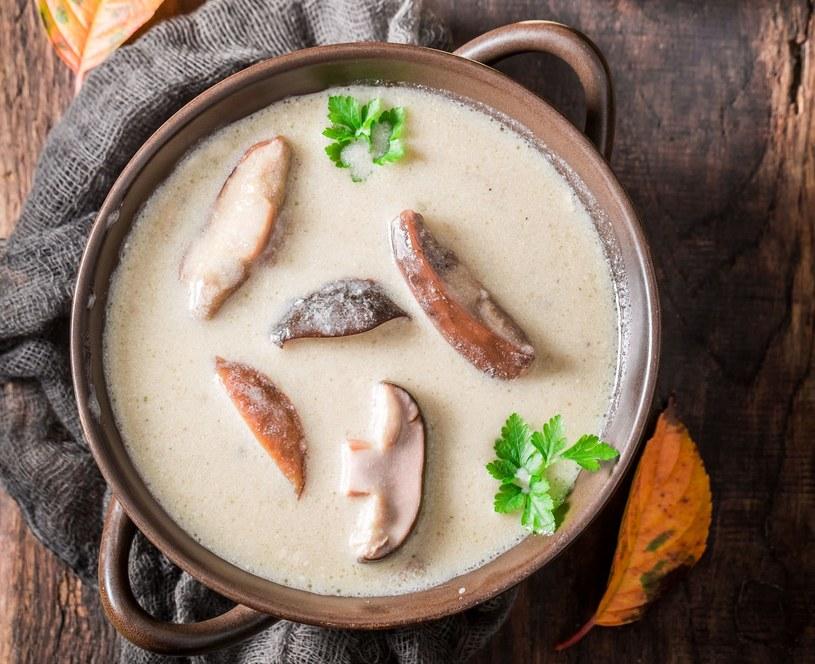Zupa borowikowa /123RF/PICSEL