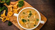 Zupa grzybowa z ziołami