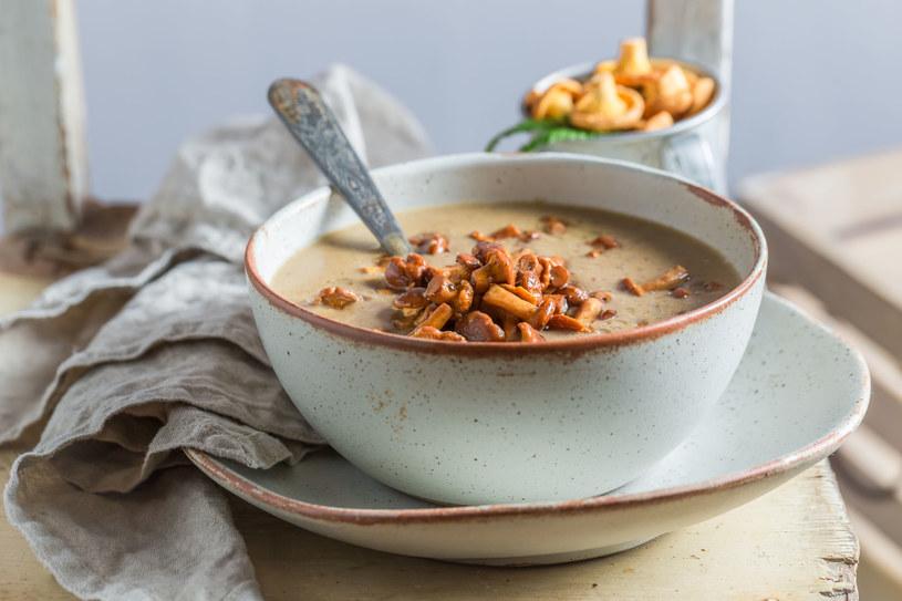 Zupa grzybowa /123RF/PICSEL