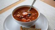 Zupa gulaszowa z grilowaną papryką