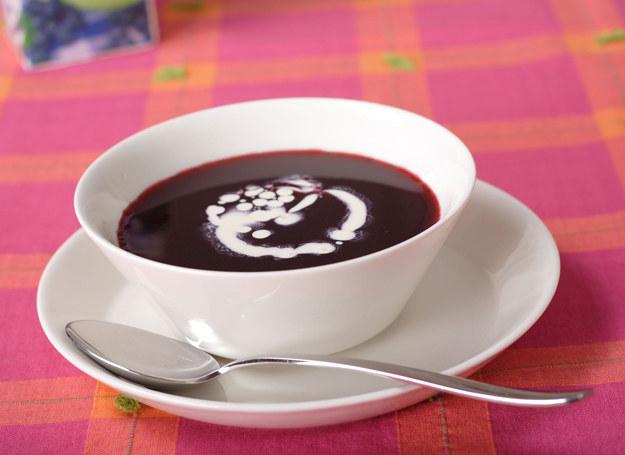 Zupa jagodowa smakuje wyśmienicie. /123RF/PICSEL