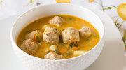 Zupa jarzynowa z klopsikami i koperkiem