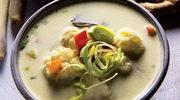 Zupa kalafiorowa z nutą cytryny