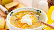 Zupa kapuściana ze śmietaną