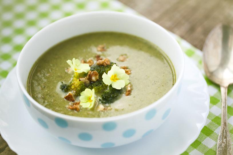 Zupa krem z brokułów /123RF/PICSEL