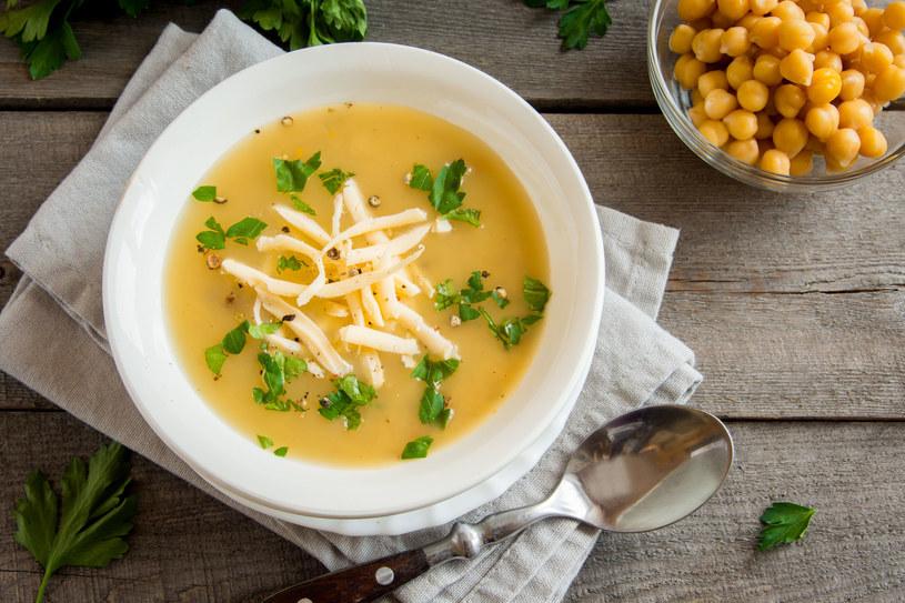 Zupa krem z ciecierzycy /123RF/PICSEL