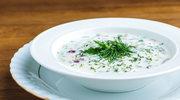 Zupa krem z dodatkiem rzodkiewki