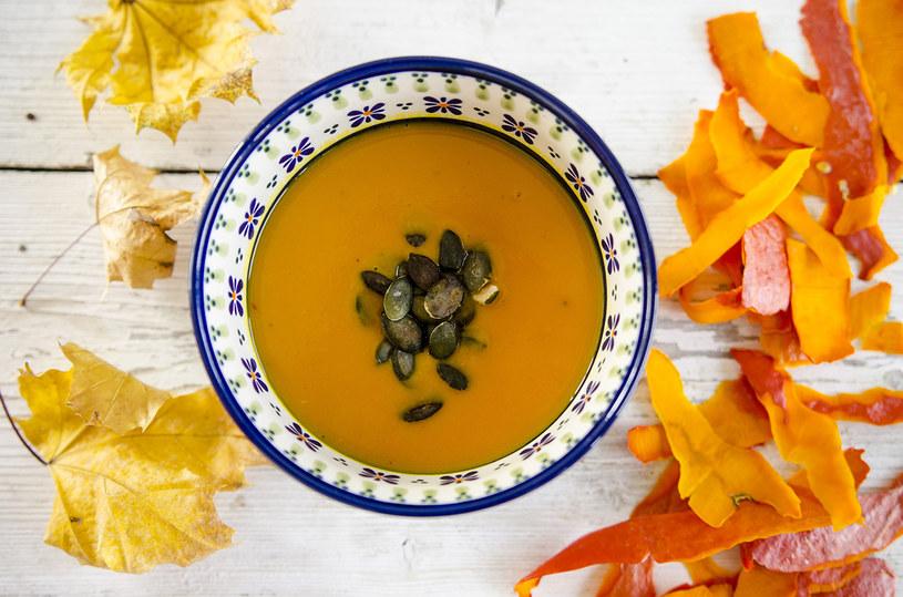 Zupa krem z dyni jest bardzo delikatna, kremowa i łagodna /INTERIA.PL