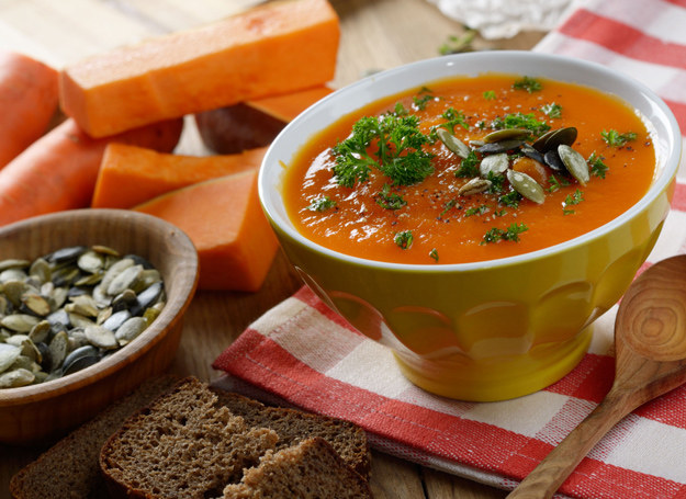 Zupa - krem z dyni /123RF/PICSEL