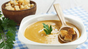 Zupa krem z fasolki