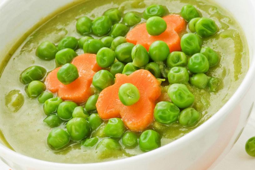 Zupa krem z groszku /123RF/PICSEL