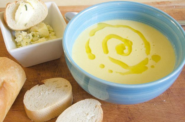 Zupa krem z kukurydzy, fot. Malwina Zaborowska /RMF24